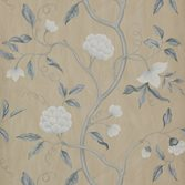 Colefax and Fowler Snow Tree - Blue/Cream