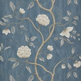Colefax and Fowler Snow Tree - Blue