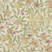 Morris & Co Fruit WP - Limestone/Artichoke