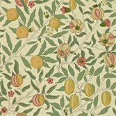 Morris & Co Fruit - Beige/Gold/Coral